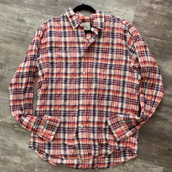 Ag Adriano Goldschmied Other - AG Lightweight Cotton Plaid Button Down